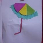paper umbrella craft