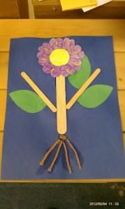 parts a flower craft