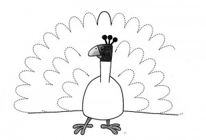 peacock trace worksheet