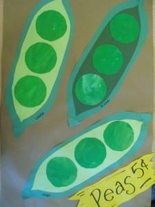 peas craft