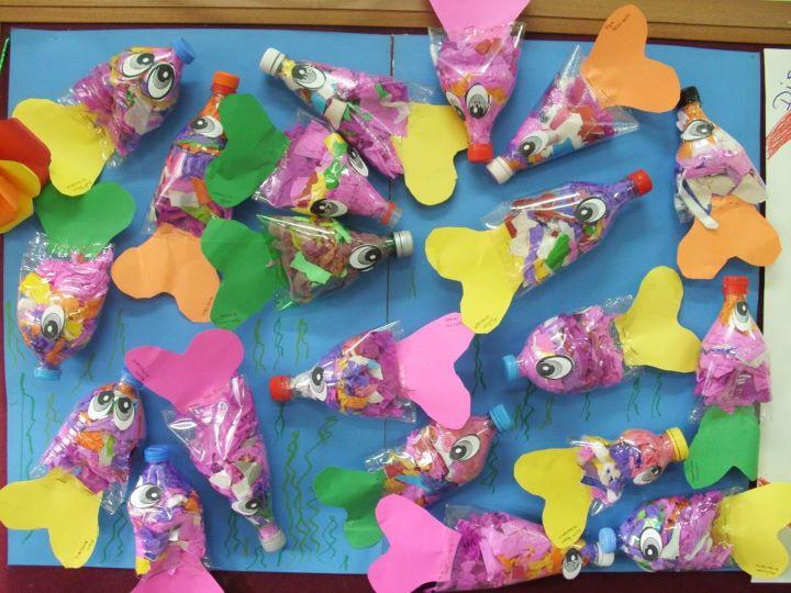plastic bottle fish craft
