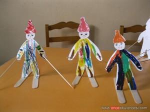 popsicle stick winter craft