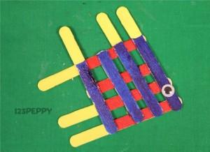popsicle sticks fish craft