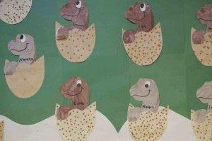 preschool dinosaur crafts