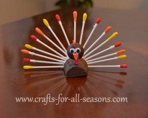 qtip-turkey-craft