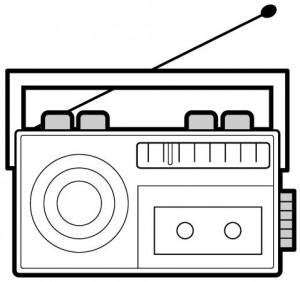 radio coloring