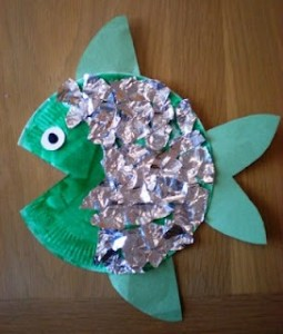 rainbow fish craft for kids