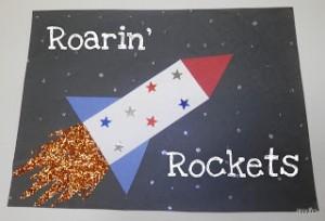rocket craft idea for kids