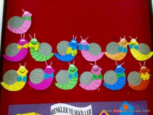 snail crafts