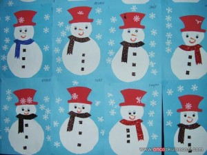 snowman craft idea for kids (1)