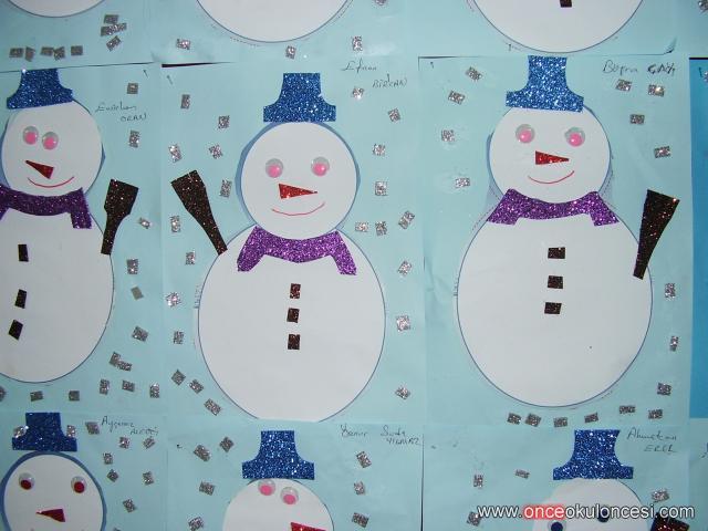 snowman craft idea for kids (3)