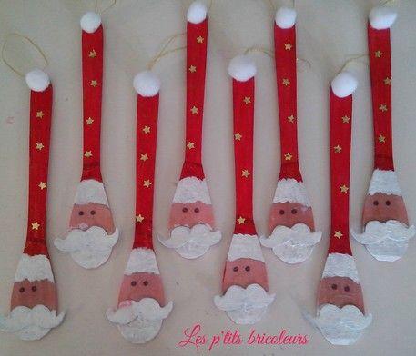 spoon santa craft