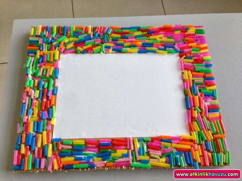 straw frame craft