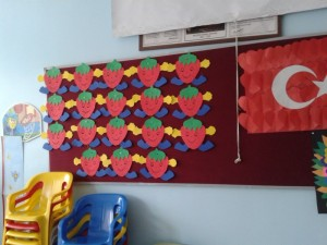 strawberry craft for kids