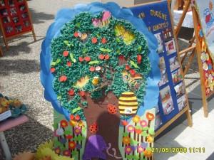 summer tree craft for kids
