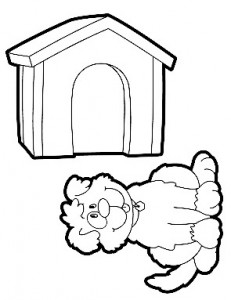 the doghouse coloring