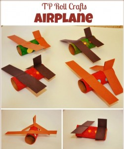 toilet paper roll airplane craft