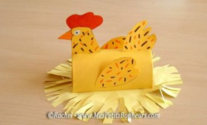 toilet paper roll craft for easter