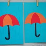 umbrella craft for kids