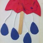umbrella puppet craft