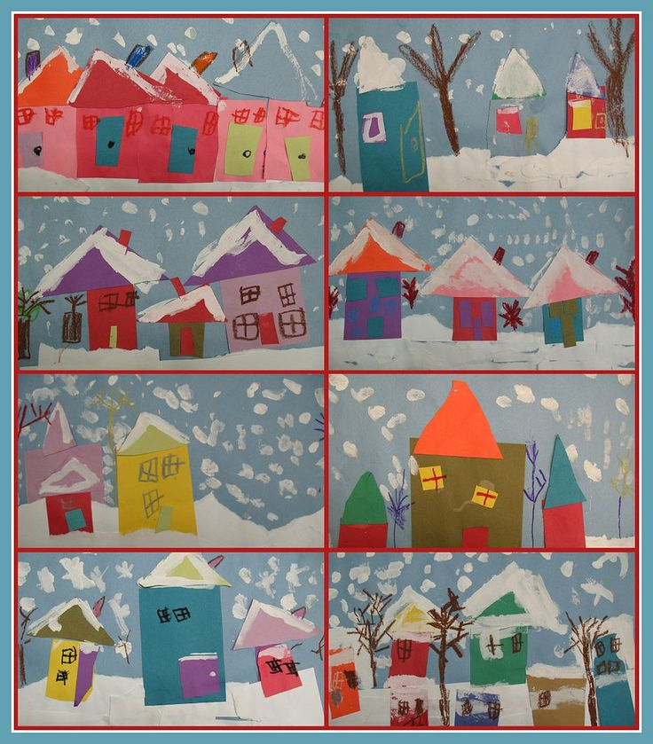 winter art craft