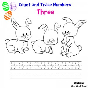 Count-and-Trace-Number-3-Easter-Worksheet