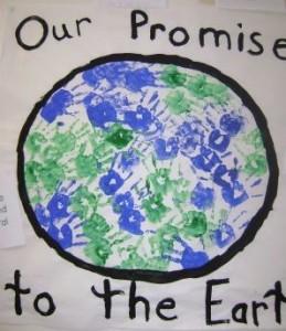 Earth Day Bulletin Board Display