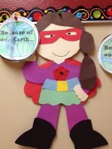 Earth Day Superhero