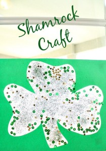 Easy Shamrock Craft