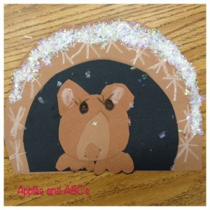 Hibernating Bear Craft1