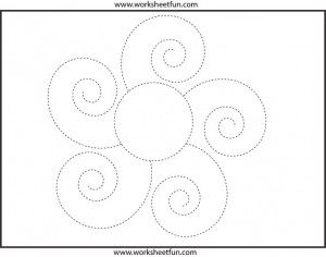 Picture Tracing Worksheet