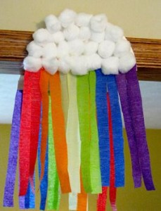 Rainbow craft for St. Patrick's Day