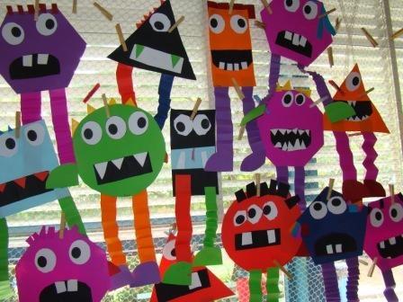 Shape monsters craft