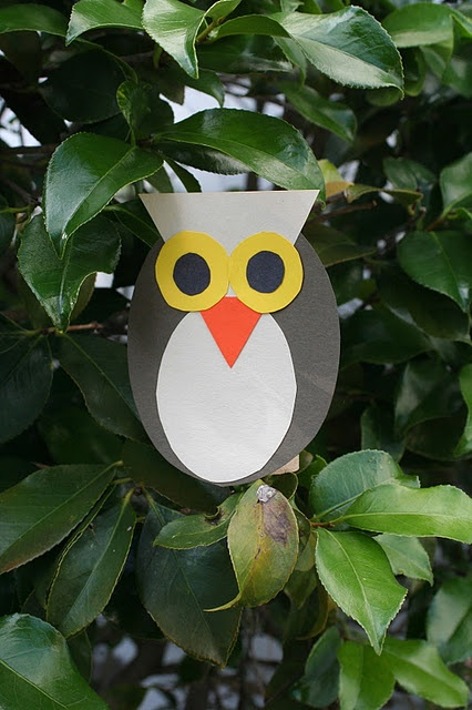 Shape owls craft