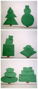 Shapes with Christmas Trees