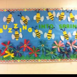 Spring bulletin board 11
