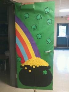 St Patrick's Day Door