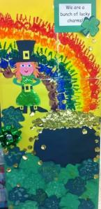 St Patrick's day door 3