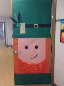 St. Patrick's Day Door craft idea