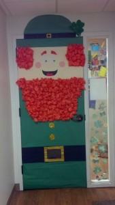 St. Patrick's day door 1