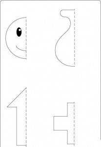 Symmetry Activity Coloring Pages