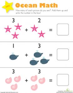 addition-ocean-math-kindergarten