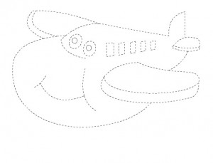 airplane trace