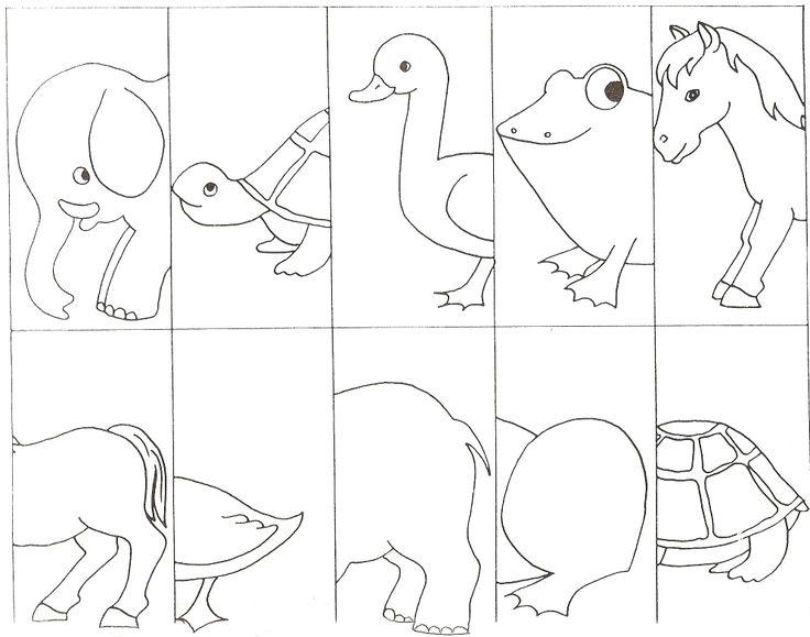 animal puzzle craft