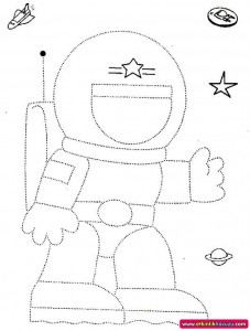 astronaut-trace-for-kids