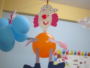 balloon clown craft