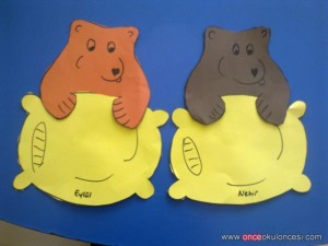 bear craft idea for kids