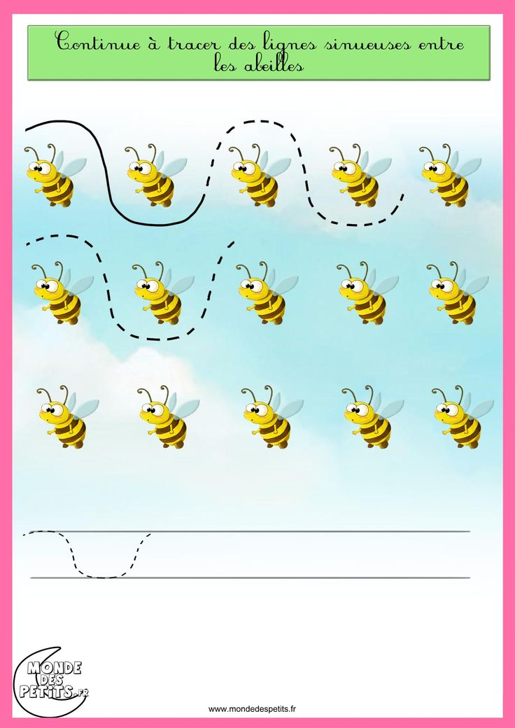 bee   trace worksheet 1