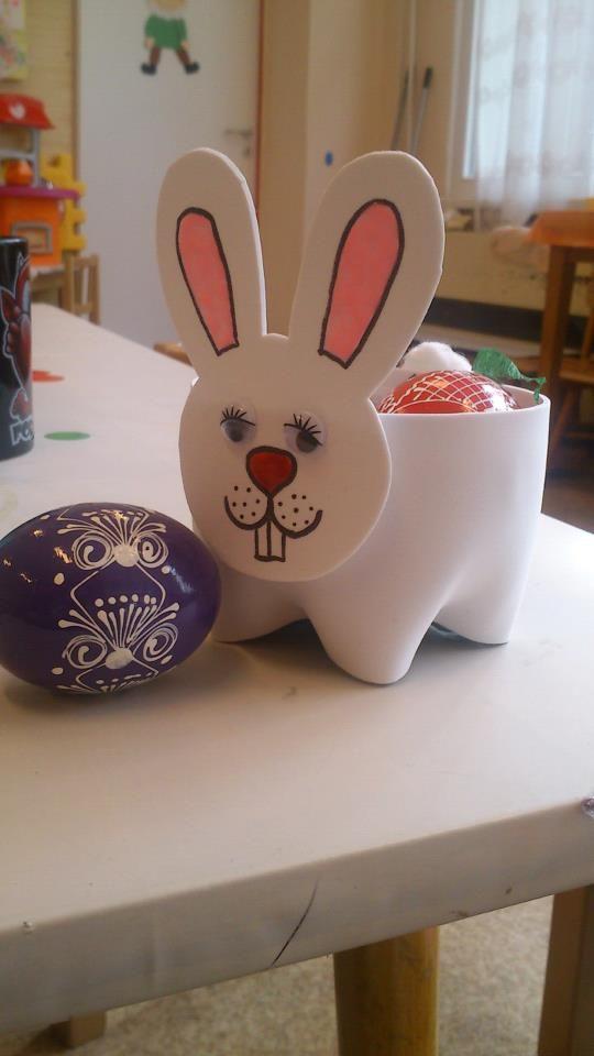 bottle bunny craft