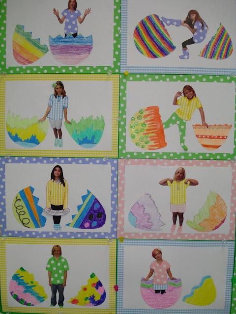 bulletin board idea (Easter)